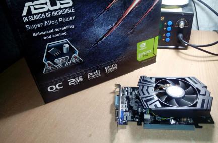 Видеокарта Asus GeForce GT 740 OC 2048MB 128bit GDDR5 - Обзор, тестирование и практическое применение